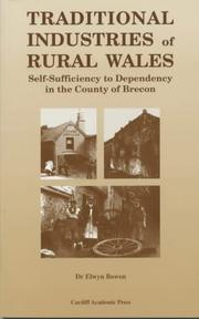 Cover of: Traditional Industries of Rural Wales