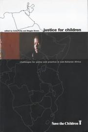 Cover of: Justice for Children