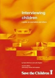 Cover of: Interviewing Children
