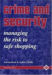 Cover of: Crime and Security