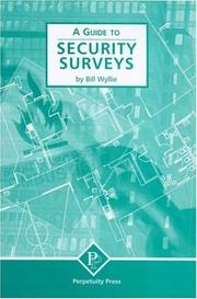 Cover of: A Guide to Security Surveys