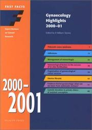 Cover of: Gynecology Highlights 2000-2001