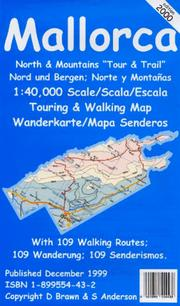 Cover of: Mallorca North Tour and Trail 2000 Map (Tour & Trail)