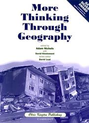 Cover of: More Thinking Through Geography