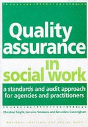 Cover of: Quality Assurance in Social Work