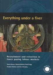 Cover of: Everything Under a Fiver (Work & Opportunity)