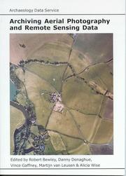 Cover of: Archiving Aerial Photography and Remote Sensing Data