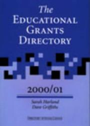 Cover of: The Educational Grants Directory 2000/2001