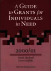 Cover of: A Guide to Grants for Individuals in Need