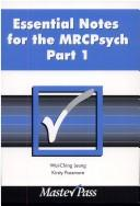 Cover of: Essential Notes for the MRCPsych