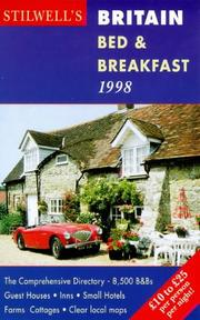 Cover of: Britain Bed & Breakfast 1998 (Annual)