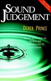 Cover of: Sound Judgement
