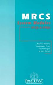 Cover of: MRCS System Modules