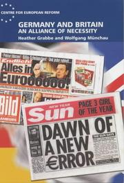 Cover of: Germany and Britain