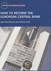 Cover of: How to Reform the European Central Bank