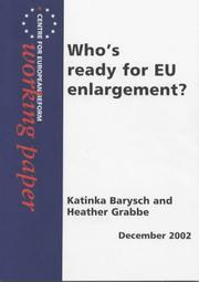 Cover of: Who's Ready for EU Enlargement?