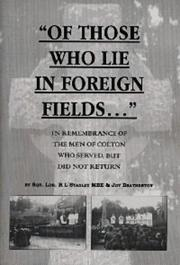 Cover of: Of Those Who Lie in Foreign Fields