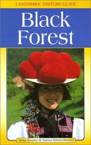 Cover of: Black Forest (Landmark Visitors Guides) (Landmark Visitors Guides)