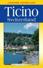 Cover of: Ticino (Landmark Visitors Guide)