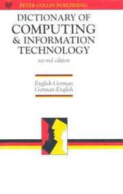Cover of: Dictionary of Computing & Information Technology Eng-Ger (with G-E Glossary)