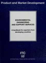Cover of: Environmental engineering and support services