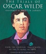 Cover of: The Trials of Oscar Wilde