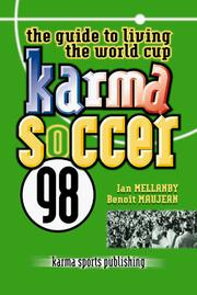 Cover of: Karma Soccer 98