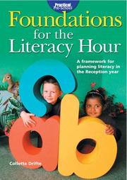 Cover of: Foundations for the Literacy Hour (Practical Pre-school)
