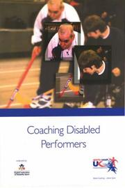Cover of: Coaching Disabled Performers