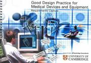 Cover of: Good Design Practice for Medical Devices and Equipment