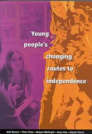 Cover of: Young People's Changing Routes to Independence