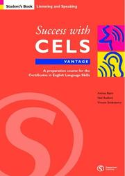 Cover of: Success with CELS