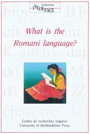 Cover of: What Is the Romani Language?