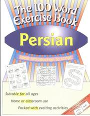 Cover of: The 100 Word Exercise Book, Persian