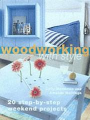 Cover of: Woodworking with Style