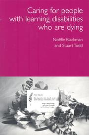 Cover of: Care for Dying People with Learning Disabilities