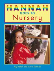 Cover of: Hannah Goes to Nursery (Hannah Goes To...)