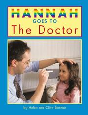 Cover of: Hannah Goes to the Doctor (Hannah Goes To...)