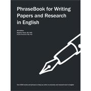 Cover of: PhraseBook for Writing Papers and Research in English
