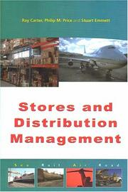 Cover of: Stores & Distribution Management