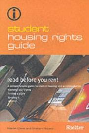 Cover of: Student Housing Rights Guide
