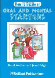 Cover of: How to Dazzle at Oral and Mental Starters
