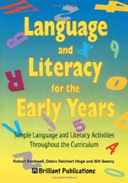 Cover of: Language and Literacy for the Early Years