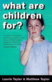 Cover of: What Are Children For?