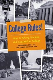 Cover of: College Rules