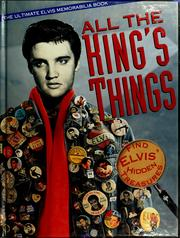 Cover of: All the king's things