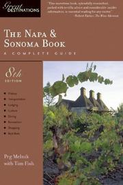 Cover of: The Napa & Sonoma Book: Great Destinations