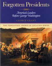 Cover of: Forgotten Presidents