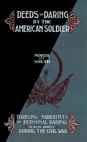 Cover of: Deed of Daring by the American Soldier