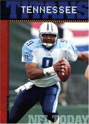 Cover of: The History of the Tennessee Titans (NFL Today)